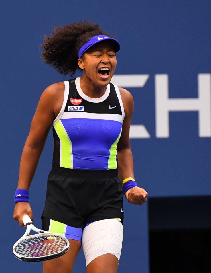 Naomi Osaka at US Open 2020