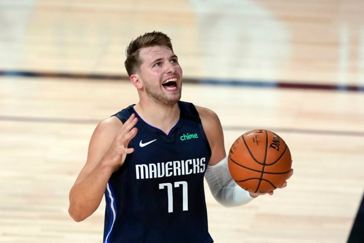 Luka Doncic Reacts To Foul Call Against LA Clippers