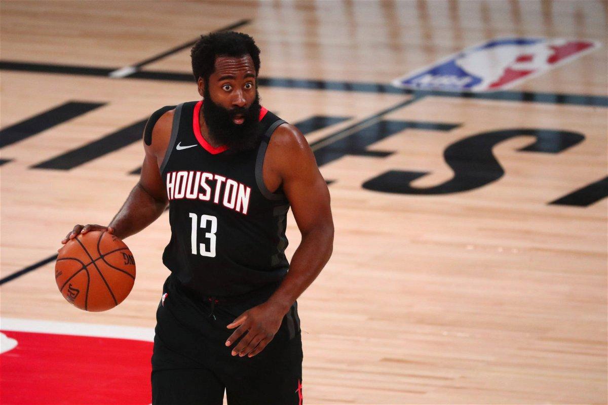 Houston Rockets James Harden against Oklahoma City Thunder