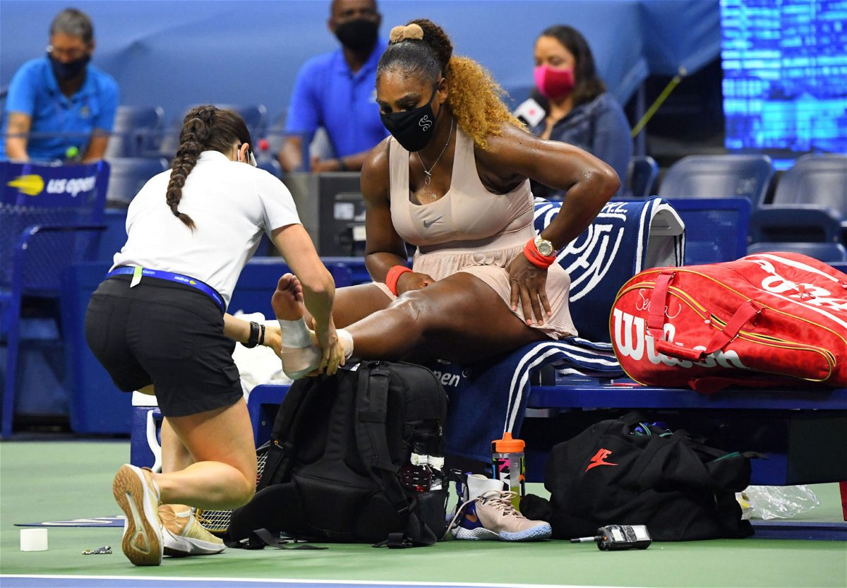 Serena Williams at US Open 2020