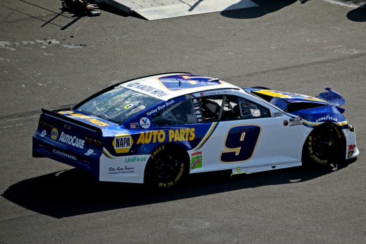 Chase Elliott in action in NASCAR Cup Series