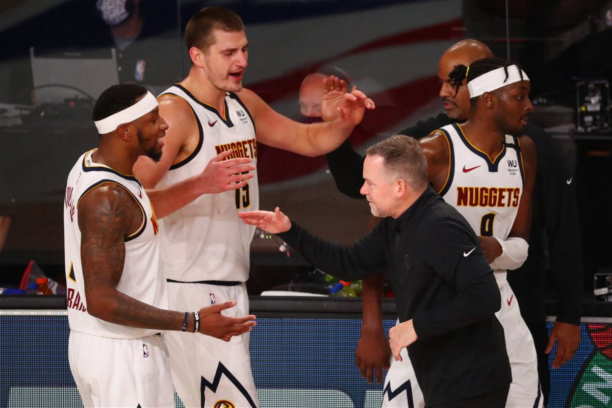 WATCH: Denver Nuggets Celebrate Like Crazy As Coach Delivers an Emotional  Speech in Locker Room - EssentiallySports