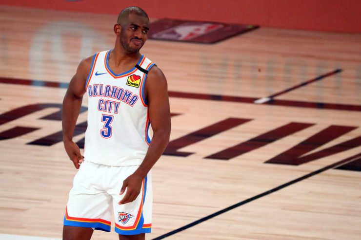 Chris Paul in NBA playoffs 2020