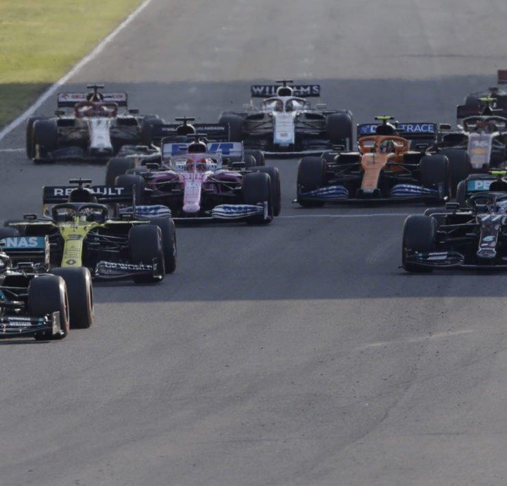 Valtteri Bottas Leading At The Tuscan GP