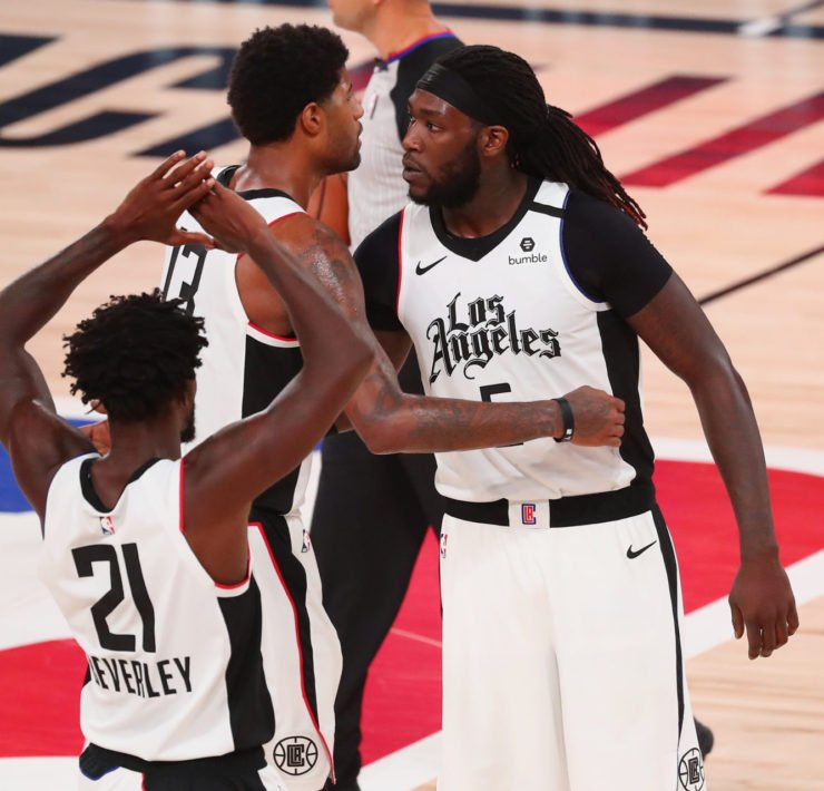 LA Clippers Montrezl Harrell(R)