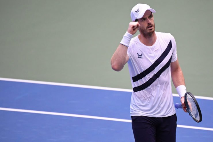 Andy Murray at US Open 2020