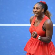 Serena Williams in action at US Open 2020