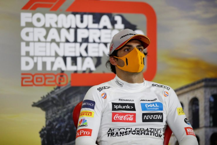 McLaren's Carlos Sainz believes Fernando Alonso is returning to Formula 1 at the right time