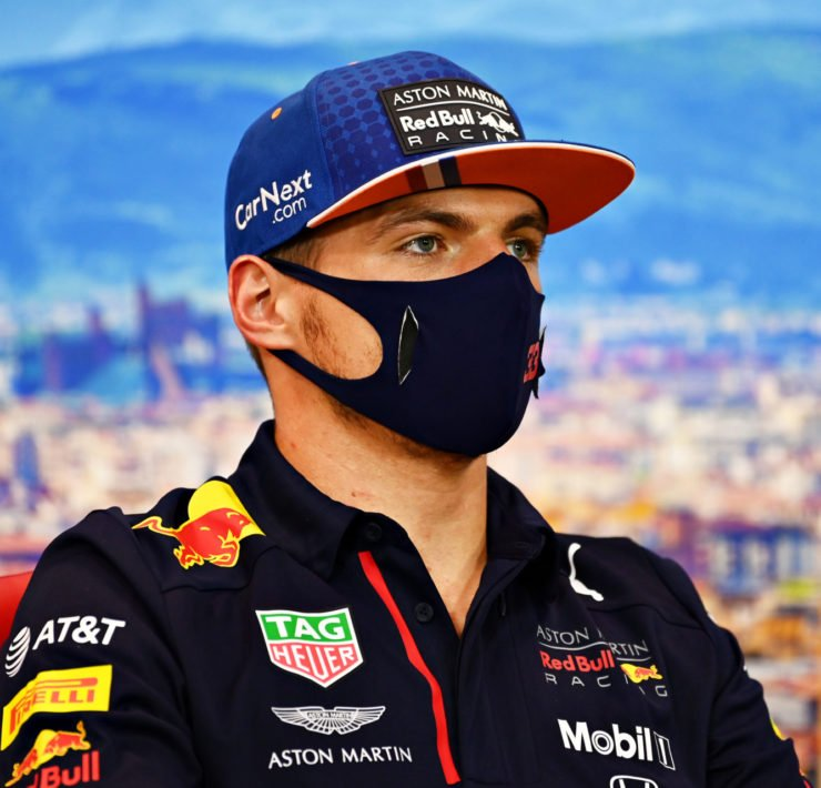 Max Verstappen after the Tuscan Grand Prix exit
