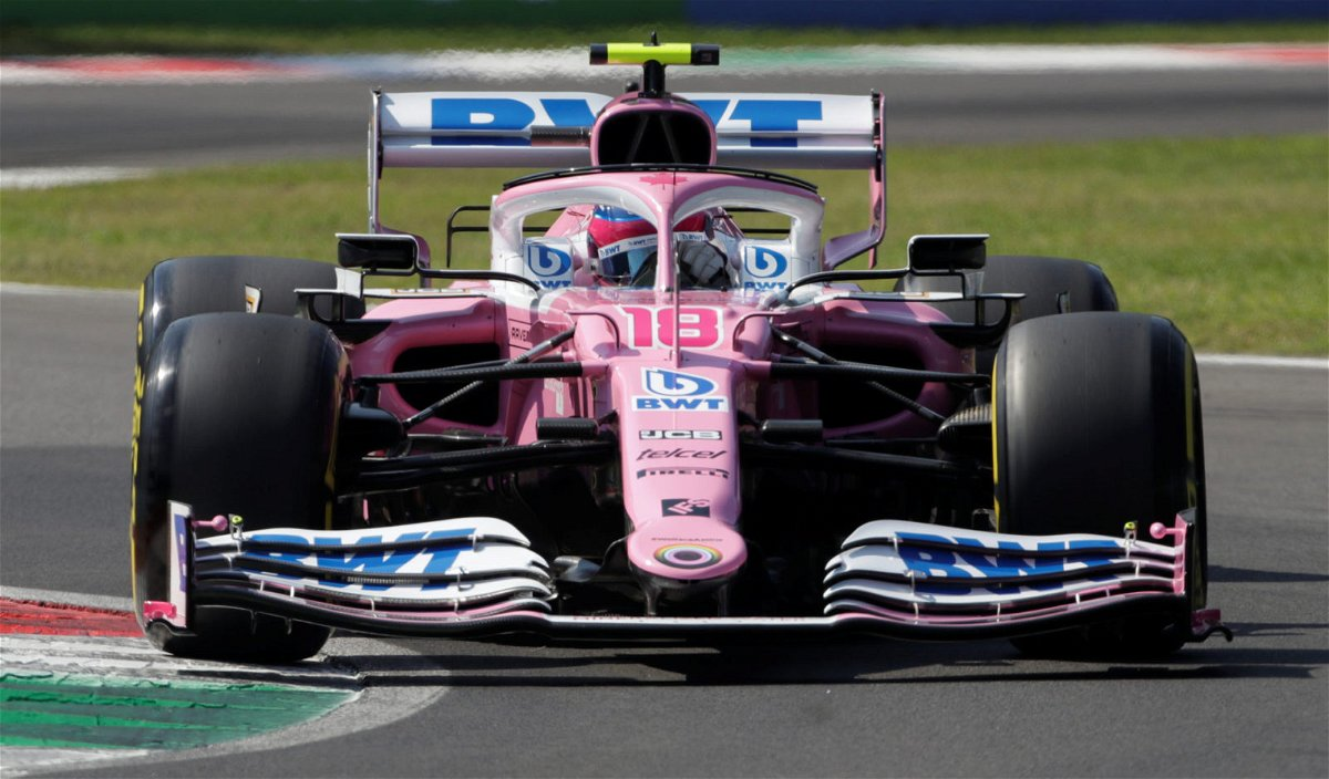 Racing Point driver Lance Stroll at Italian Grand Prix, 2020