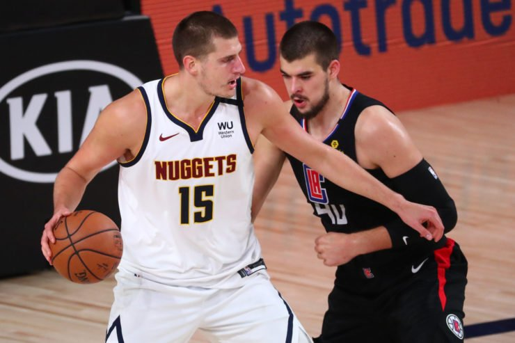 Denver Nuggets vs LA Clippers: Nikola Jokic and Ivica Zubac