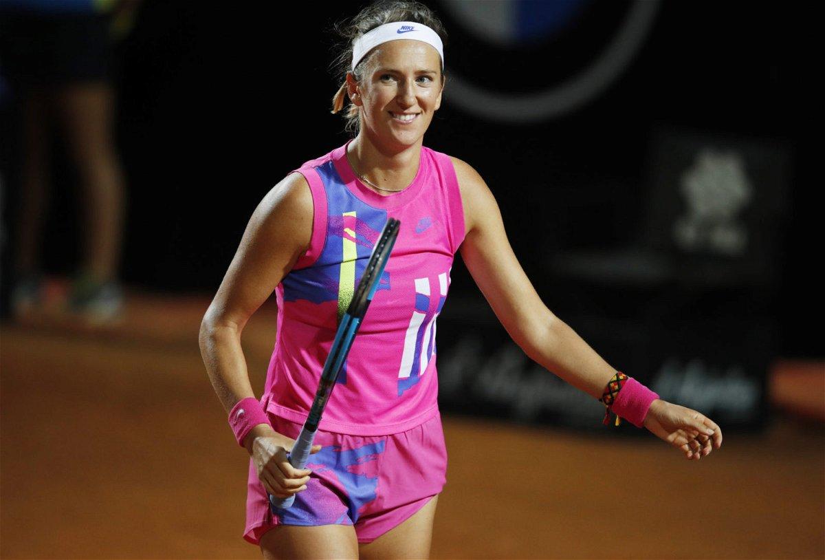 Victoria Azarenka at Italian Open 2020