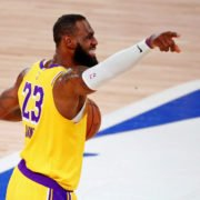 Los Angeles Lakers vs Denver Nuggets: LeBron James