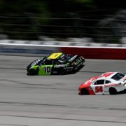 Ross Chastain in action in NASCAR Xfinity Series