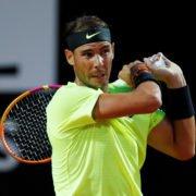 Rafael Nadal at the 2020 Italian Open