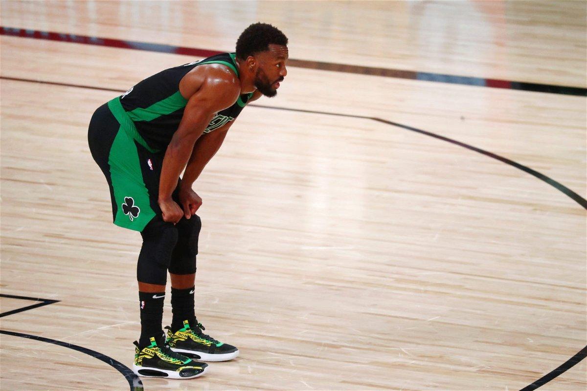 Boston Celtics Guard Kemba Walker Against Miami Heat