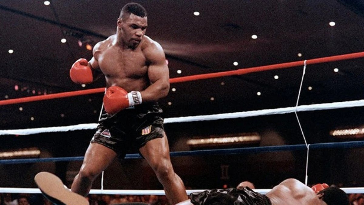 That Would Be Mind Blowing Mike Tyson Reacts To A Potential Fight With Anthony Joshua Essentiallysports