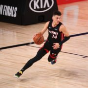 Miami Heat rookie Tyler Herro scored 22 points in Conference Finals Game 3 against Celtics