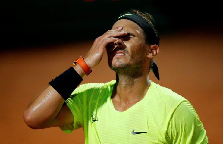 Rafael Nadal at Italian Open 2020