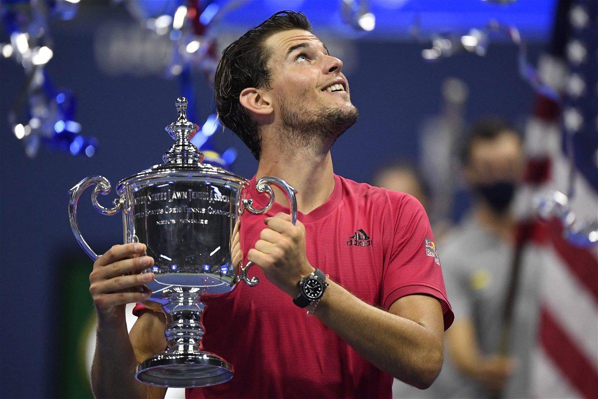 Dominic Thiem en el US Open 2020