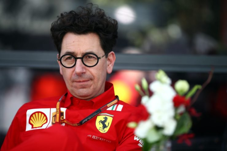Ferrari boss Mattia Binotto contemplates Ferrari's future