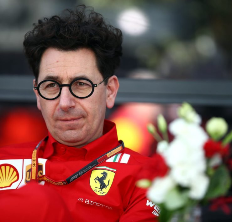 Ferrari boss Mattia Binotto contemplates Ferrari's future