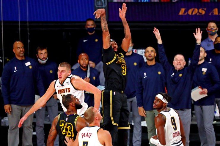 Los Angeles Lakers vs Denver Nuggets: Anthony Davis