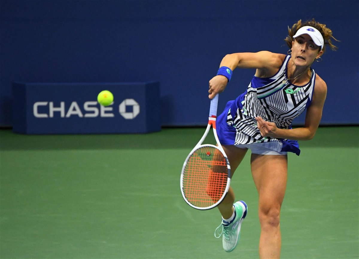 Alize Cornet at US Open