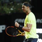 Rafael Nadal at the Italian Open 2020