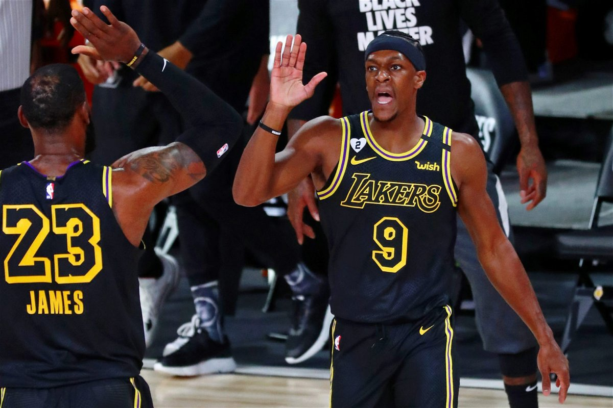 Lakers Teammate Reveals How Rajon Rondo Was Able to ...