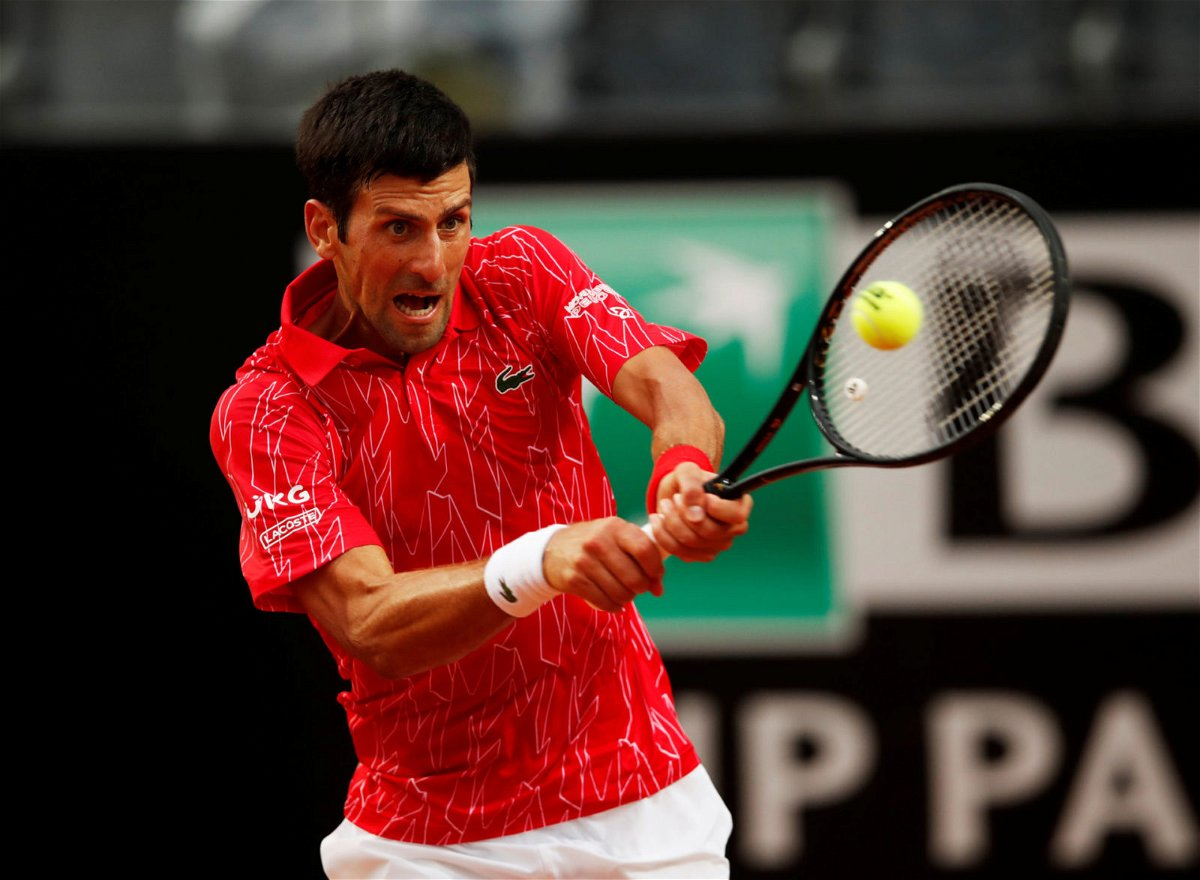 Novak Djokovic Makes History After Defeating Diego Schwartzman To Clinch The Italian Open 2020 Essentiallysports
