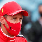 Sebastian Vettel at the Belgian Grand Prix, 2020