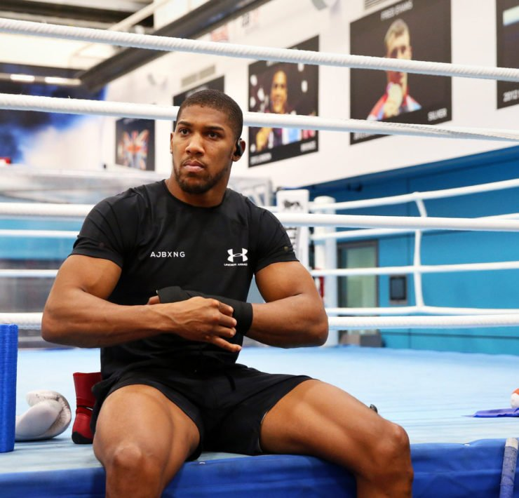 Anthony Joshua DENIES Chantelle Connelly romance - as she