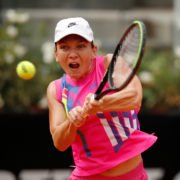 Simona Halep at Italian Open 2020