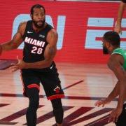Miami Heat Andre Iguodala vs Boston Celtics