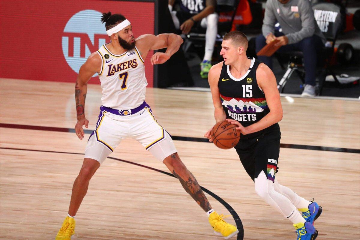 Denver Nuggets vs Los Angeles Lakers: Nikola Jokic going against JaVale McGee