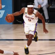 Rajon Rondo of Los Angeles Lakers