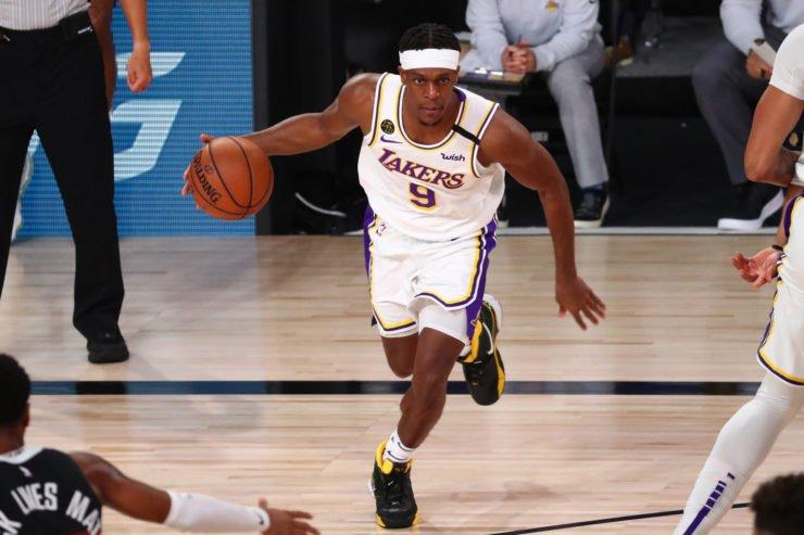 Rajon Rondo of Los Angeles Lakers