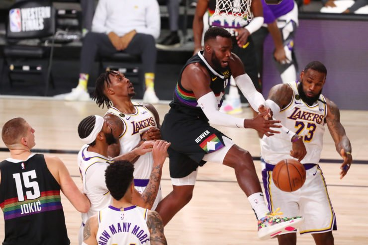 Denver Nuggets ripping through Lakers' defense in WCF Game 3
