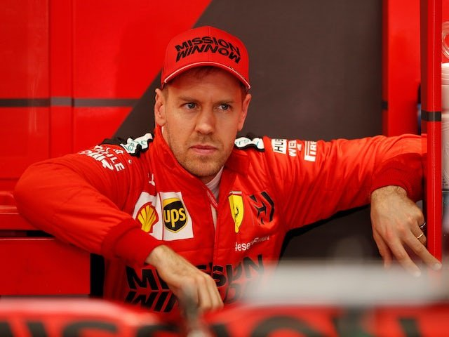 Sebastian Vettel gears up for race