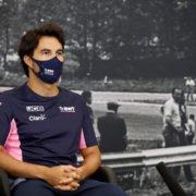 Sergio Perez during press conference at Belgian Grand Prix 2020