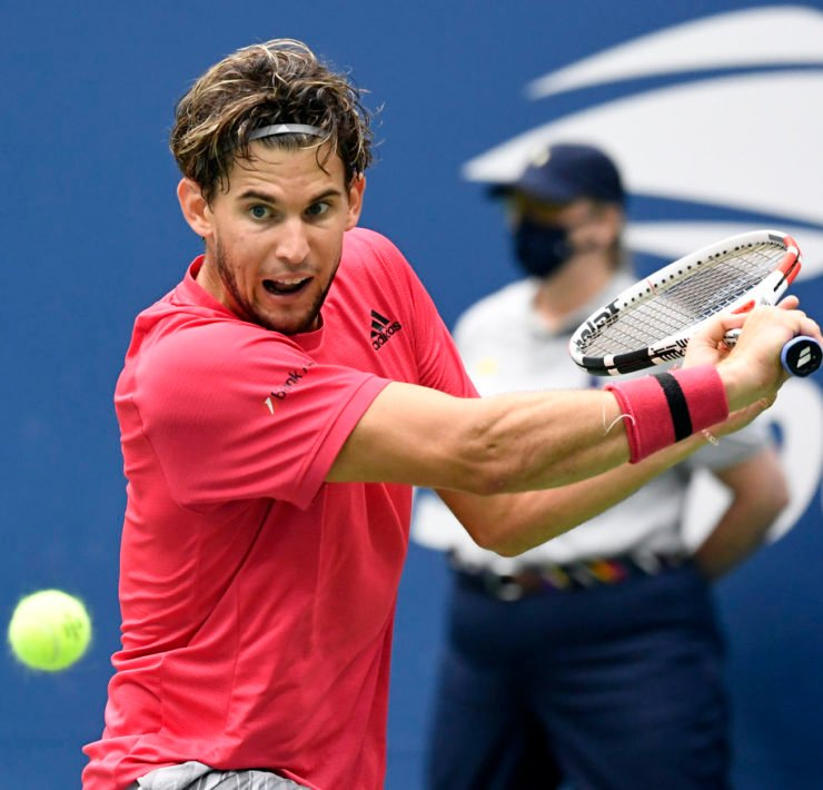 Dominic Thiem at US Open 2020
