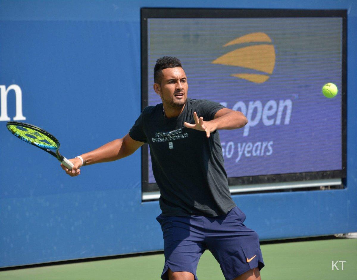 Dancing With Shirts Off Hitting Linesman Nick Kyrgios Taunts Alexander Zverev And Novak Djokovic Essentiallysports