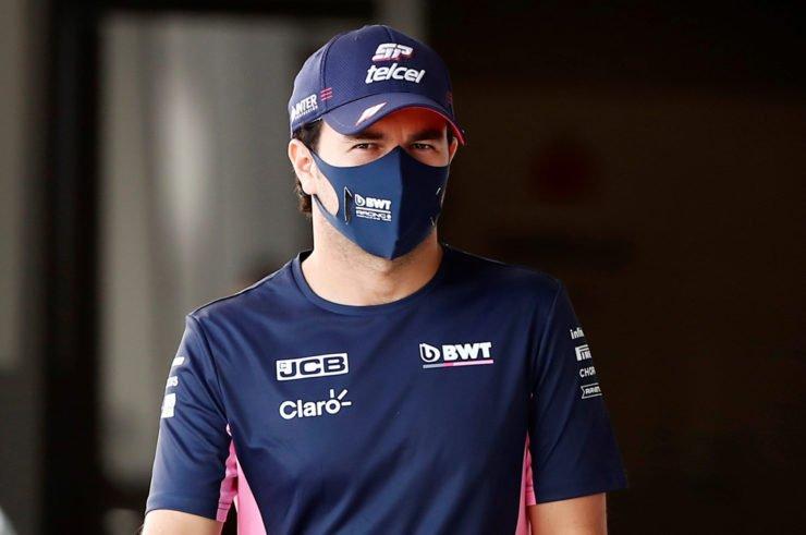 Sergio Perez At The Russian GP Press Conference