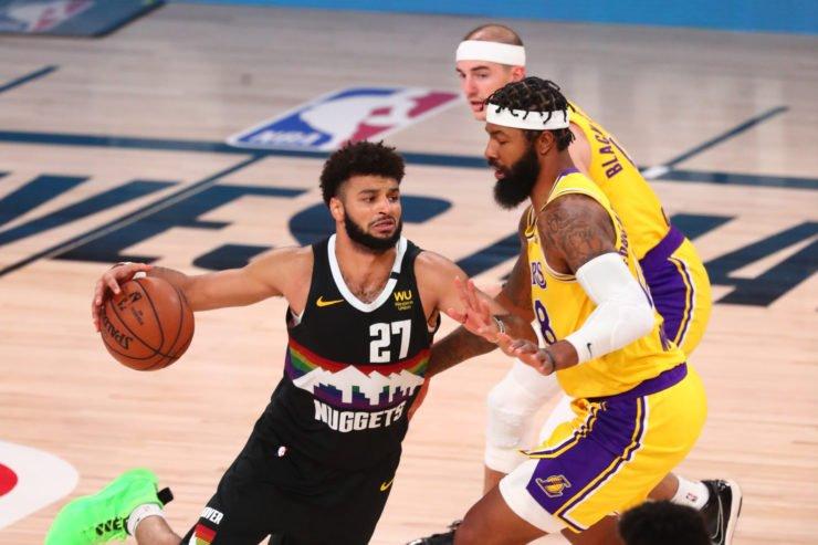 Denver Nuggets vs Los Angeles Lakers: Jamal Murray against Markieff Morris