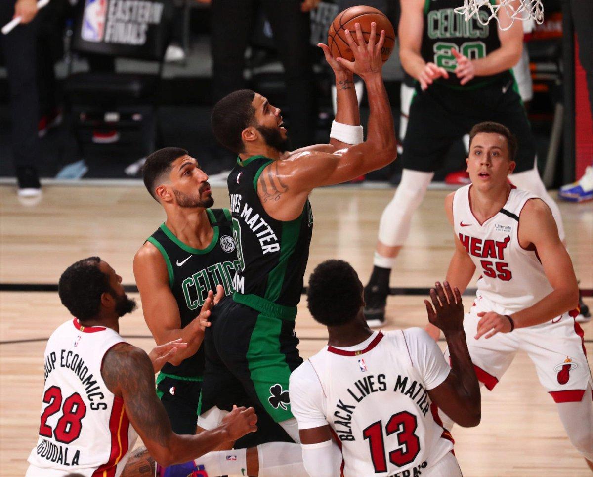 Celtics' Jayson Tatum Puts Himself Above LeBron James By Setting New NBA  Playoff Record - EssentiallySports