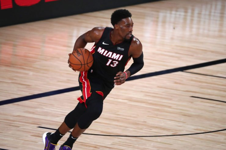 Miami Heat forward Bam Adebayo in 2020 NBA Playoffs