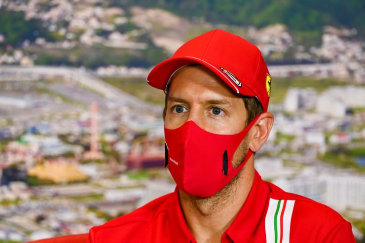 Sebastian Vettel At Russian GP Press Conference
