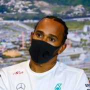 Lewis Hamilton During Russian GP Press Conference