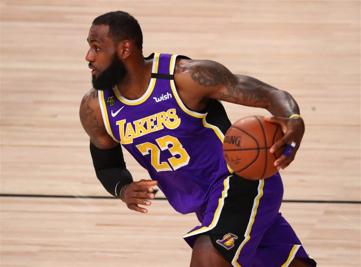 Lakers superstar LeBron James